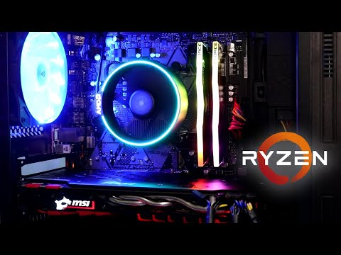 ARMADO PC RYZEN 7 2700 + B450M + 16GB RAM