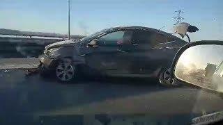 Массовая авария в Тюмени