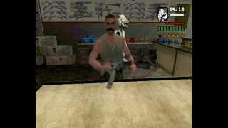 GTA San Andreas как сделать бесконечные патроны