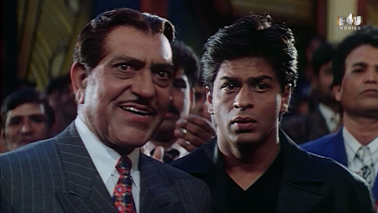 Shahrukh Khan, Twinkle Khanna, Amrish Puri Best Scene | Baadshah | Johnny Lever