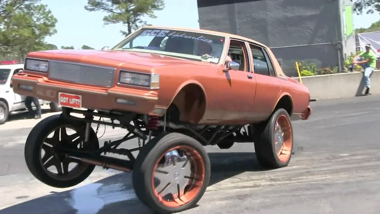 Lowrider Car Wallpaper Lifted Box Chevy With Hydraulics Youtube
