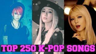 MY TOP 250 FAVORITE K-POP SONGS [PART 3 of 5] FEMALE VERSION