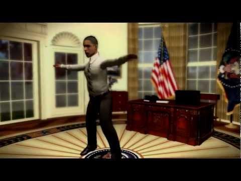 2012 Barack Obama singing