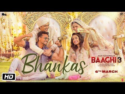 Baaghi 3 Bhankas Song | Tiger Shroff, Shraddha Kapoor | Bappi Lahiri