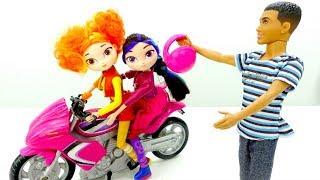 Летающий мотоцикл. Видео для девочек про Сказочный патруль.