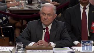Sessions on whether Trump records conversations | Sessions testifies before Senate committee