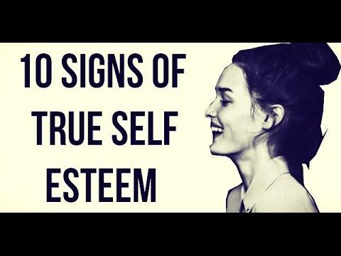 10 Signs of High Self Esteem