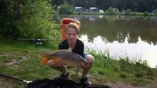 vissen bij camping Recreatiepark Slot Cranendonck