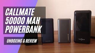 Callmate 50 000mAh PowerBank Unboxing amp Comparison Review