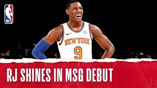 RJ Records 26 PTS In First Game at the Garden