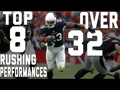 Top 8 Rushing Performances Over 32 Years Old! | NFL Highlights