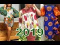 2019 Latest African Trendy Styles : Simple And Lovely Ankara And Aso Ebi Design