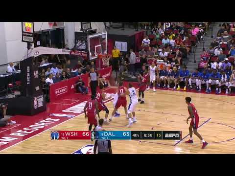 NBA Washington Wizards vs Dallas Mavericks   Summer League   Jul 13,  2018