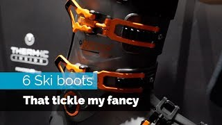 Ski Boots - 6 SKI BOOTS | THAT TICKLE MY FANCY