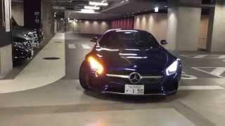 メルセデス・ベンツ コネクション大阪AMG-GT試乗