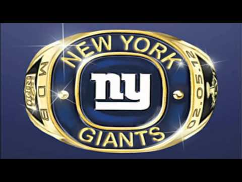 "The NY Giants Song - ""GO BIG BLUE!"""