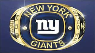 """The NY Giants Song - """"GO BIG BLUE!"""""""