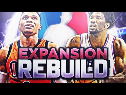 87 OVERALL DRAFT PICK!? EXPANSION REBUILD! NBA 2K18
