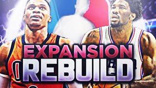 87 OVERALL DRAFT PICK!? EXPANSION REBUILD! NBA 2K18