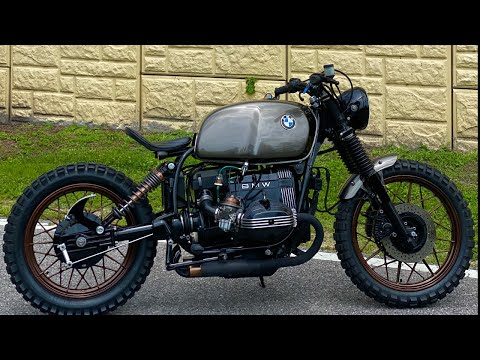 BMW Scrambler Build Update (R80RT)
