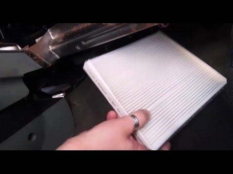 Cambio filtro habitáculo de cabina coche Chevrolet ...