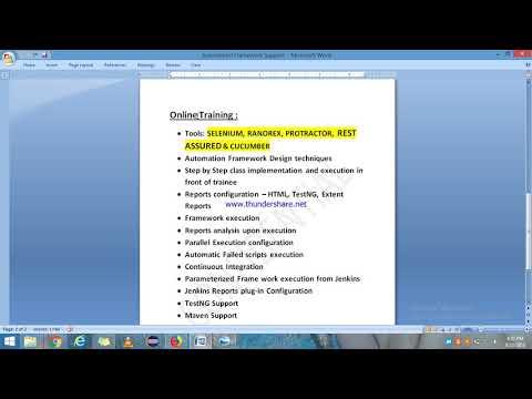 Selenium tutorial protractor tutorial selenium support cucumber videos
