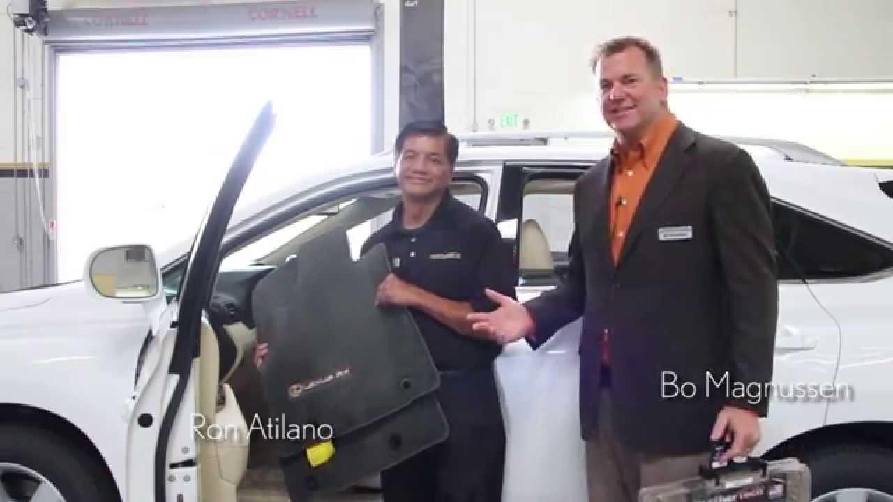 Magnussen Lexus Service Tips: Floor Mats - YouTube