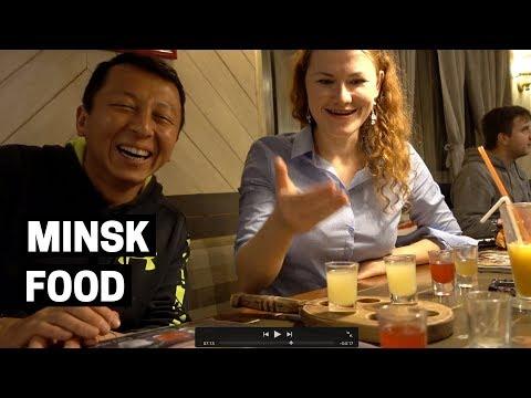FOOD VLOGGER for a Day BELARUS 🍩🥘   Minsk Free Walking Tour 🚶🏻
