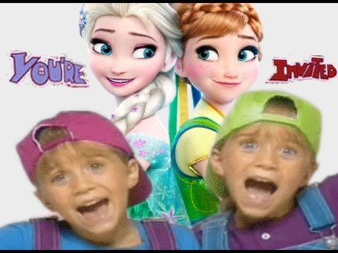 Frozen Intro Mary Kate Ashley You Re Invited Style Youtube