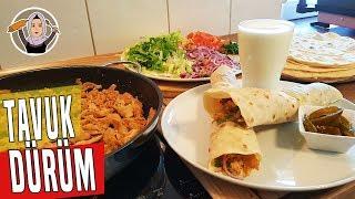 Tavuk Döner - Dürüm Tarifi(Evde kolay ve lezzetli bir tarif) | Hatice Mazı ile Yemek Tarifleri