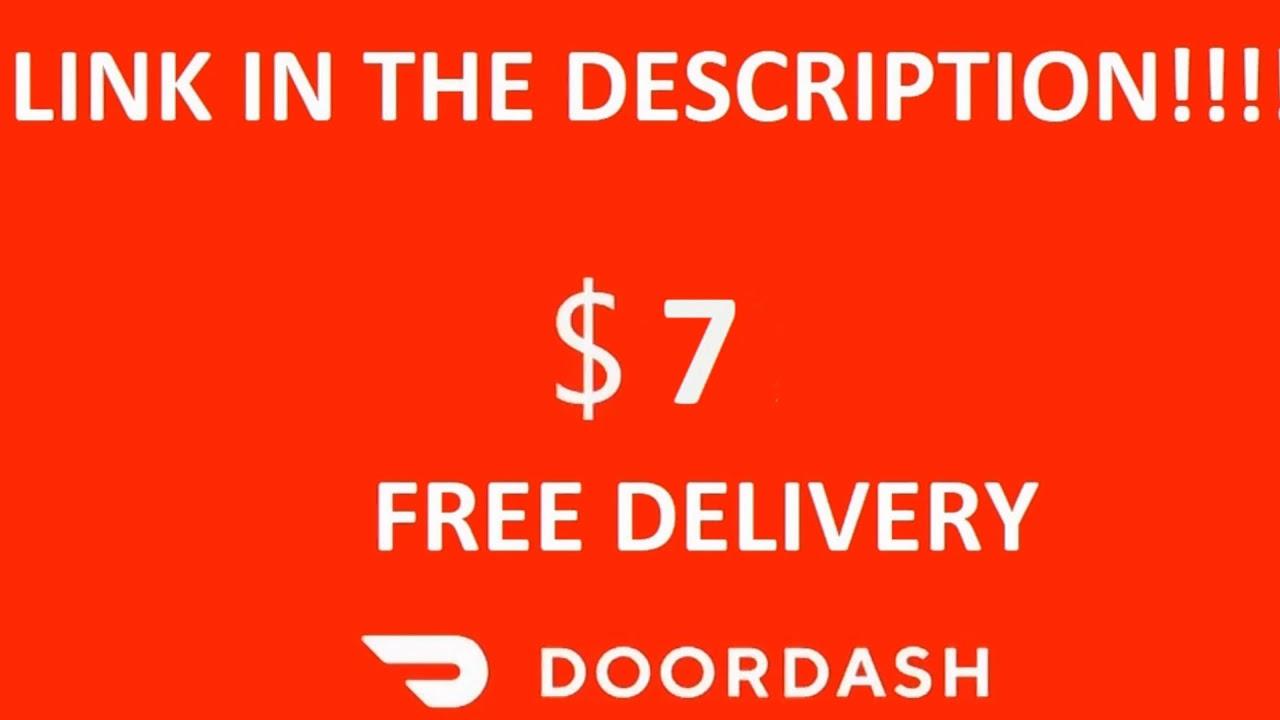 Doordash Promo code 7$ off JUNE 2019