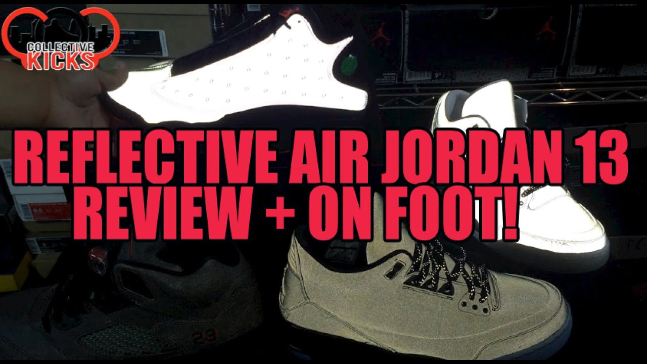 4545a68e8bffe3 Worth  200 Or Naw  Air Jordan 13 3M Reflective Infrared Comparison ...