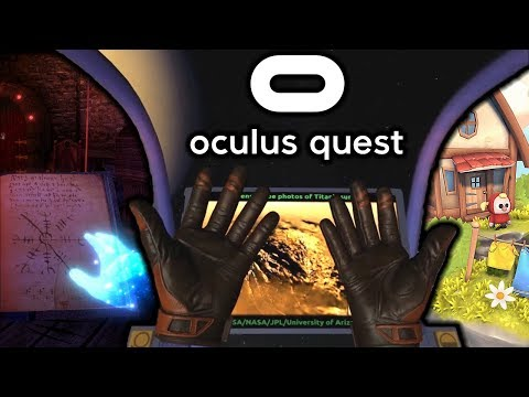 Oculus Quest FIRST HAND TRACKING GAMES Rolling Out!!
