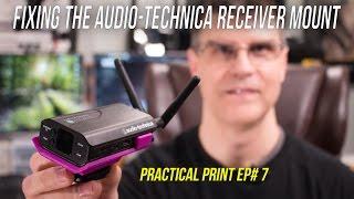 Fix Your Audio-Technica System 10 Rec. Mount -- Practical Print EP #7 (4K)