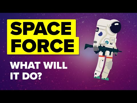 US Space Force - What Is It And What Will It Do? (6th US Military Branch)