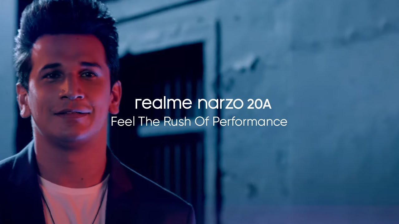 realme Narzo 20A | Feel The Rush Of Performance
