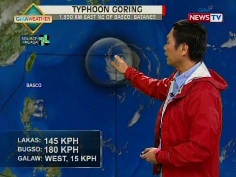 SONA: Typhoon at isang low pressure area, nasa loob ng Philippine Area of Responsibility
