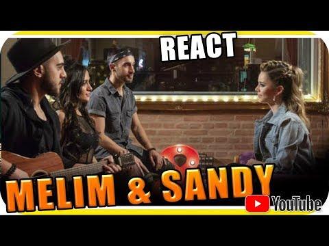 SANDY e MELIM - Nós VOZ Eles - Marcio Guerra React