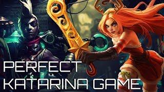 PERFECT SCORE KATARINA GAME - Katarina vs Ekko - Master Tier Full Katarina Gameplay