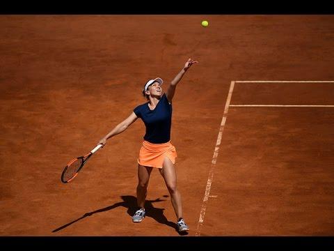 2017 Internazionali BNL d'Italia Round of 16 | Simona Halep vs Pavlyuchenkova | WTA Highlights