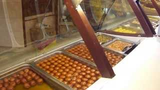 Mouthwatering Sweets at Haldiram Shop