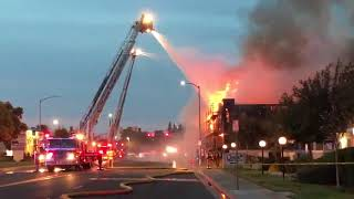 Three Businesses Damaged After Large Fire in Clovis