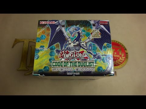 Opening - Code of the Duelist Special Edition Display