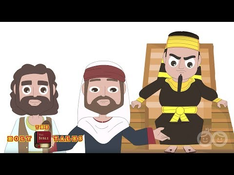 Moses Speaks to The Pharaoh | Book of Exodus | Children's Bible Stories | Holy Tales Bible Stories