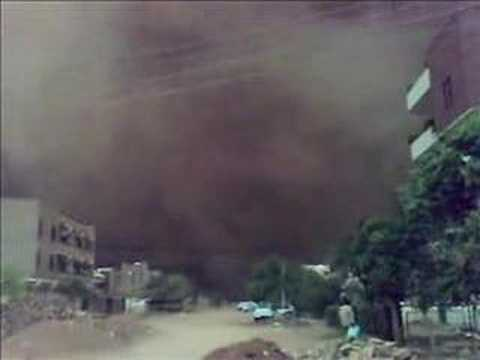 Khartoum Sand Storm 1. 2007