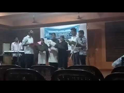 "Western vocal group ""when peace like  a river...."" By commerce department arts *kalapam 2018*"