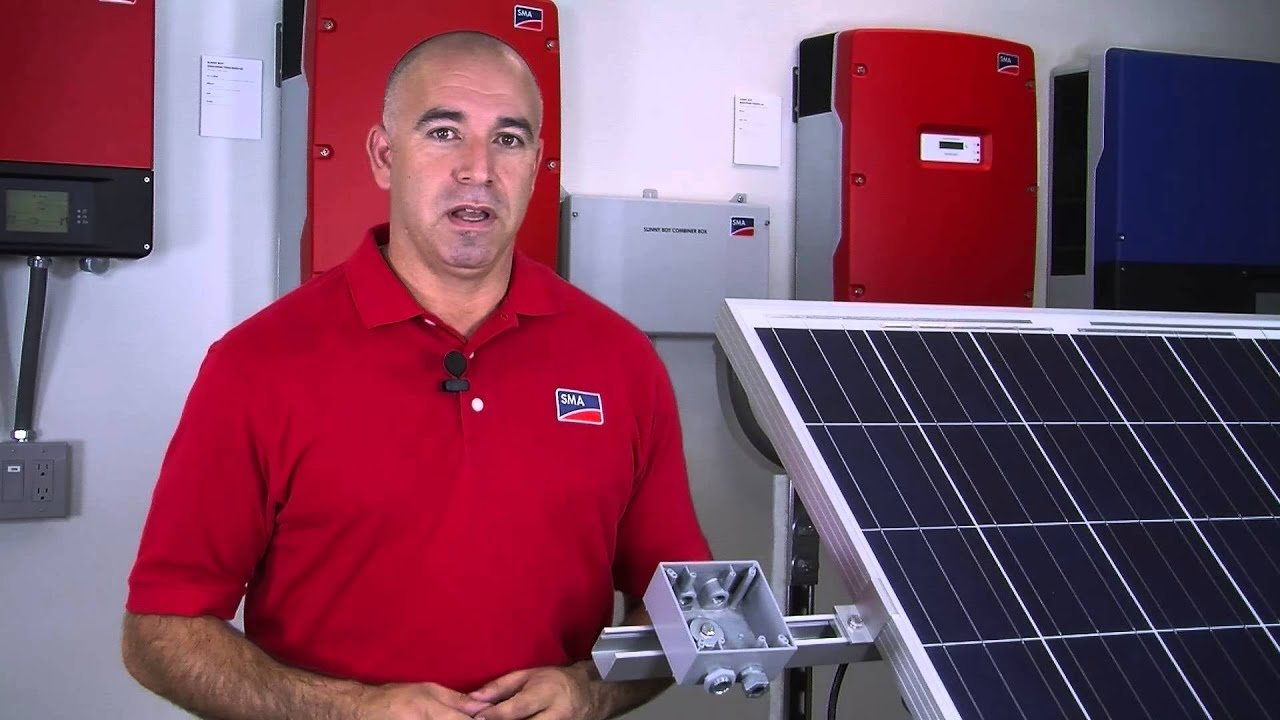 Tech Tip How To Install The Sma Micro Inverter Youtube Wiring Home For Solar Power Including System Schematic Diagram Technology