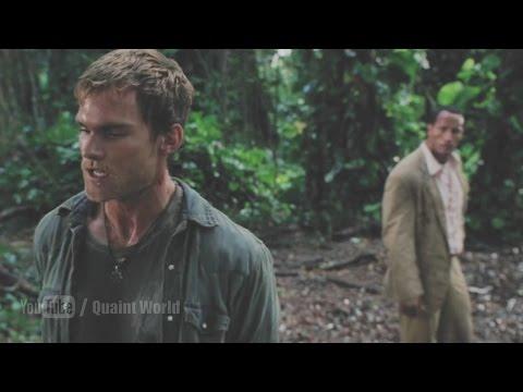 Seann William Scott funny peeing scene | The Rundown | Dwayne Johnson
