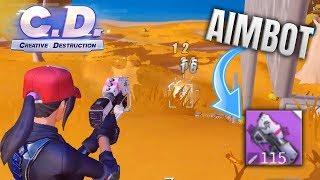 THIS GUN HAS AIMBOT?! Creative Destruction PC Gameplay