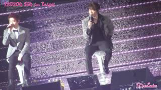 120204 SS4 in Taipei - Lovely Day(主赫宰)+Our Love(主赫海)